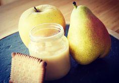 Recette de compote pomme poire biscuitée au Petit beurre pour bébé (dès 6 mois)