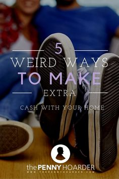 One of the most underutilized resources many of us have is our home. Our house doesn't have to just be a place we live, but it can also be a cash generator. Here are a few ways to take advantage…. - The Penny Hoarder http://www.thepennyhoarder.com/5-weird-ways-to-make-extra-cash-with-your-home/ make money from home, ways to make money at home