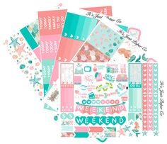 Under the Sea Collection (Planner Stickers)