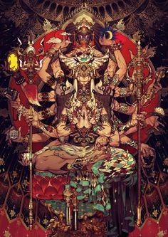 fantasy ( a scifi, steampunk) galerie - kyce vitany Art Asiatique, Japan Art, Animes Wallpapers, Oeuvre D'art, Game Art, Art Inspo, Amazing Art, Art Reference, Character Art