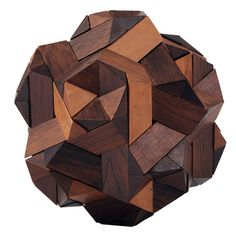 Exotic Wood Molecular Puzzle