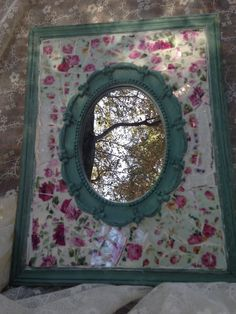 Beautiful mosaic mirror!!!
