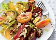 20 Quick Summer Salads--  One plate. All of the flavors.Get the recipe. - Food and Wine