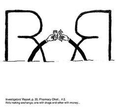 Rough sketch for proposed FDA Consumer Magazine illustration.