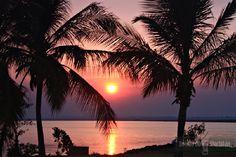 Pôr-do-sol na Praia da Graciosa - Palmas