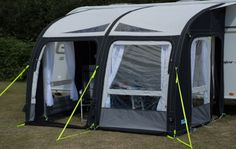 The fantastic Kampa Rally Air Pro 330 Caravan awning returns for the 2016 season and forms part of Kampa's premium range of caravan awnings. The Kampa Rally Air Pro 330 is the middle sized model in this range measuring 2.5 Metres deep and 3.3 metres wide.