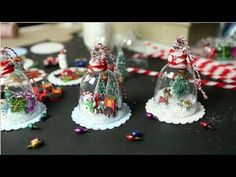 Vintage Insprired Jelly Jar Ornaments. So adorable!  #LastMinuteChristmas #holidays2014 #Loft906