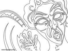 Weeping Angel coloring page for Youtube For Hart Part Chuck Carson and Cinnamon Cooney