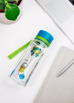 Zdravá fľaša Equa Balloons 600ml - Equa fľaše 600ml - Tritánové zdravé fľaše - Eko fľaše | SolarBunny.eu