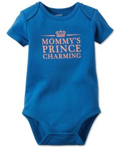 101dbd7911 Carter s Baby Boys  Short-Sleeve Prince Charming Bodysuit Baby Clothes  Shops