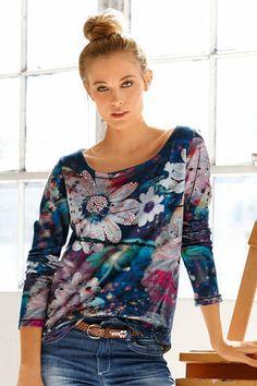 Buy Heine Printed Sweatshirt online | Shop EziBuy