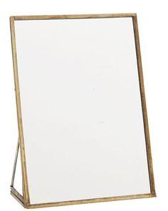 Madam Stoltz Madam Stoltz Spiegel staand 18 cm