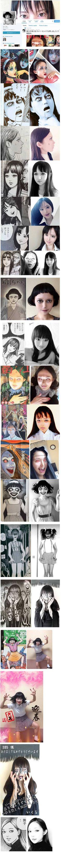 Ito Junji cosplay