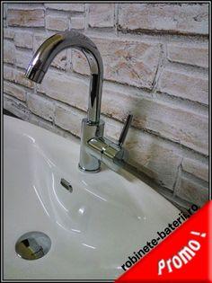 Baterie lavoar Kobuk cu gat curbat | Sink, Home Decor, Faucet, Sink Tops, Vessel Sink, Decoration Home, Room Decor, Vanity Basin, Sinks