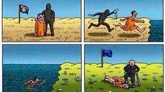 Vluchteling trekt facebookend door Europa | NOS