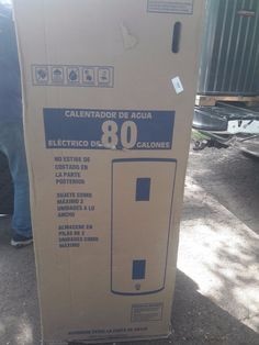 80 Gal Electric Water Heater