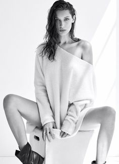 "Photography Poses : "" Bella Hadid photographed by Nino Muñoz for Flare Magazine (October . Fashion Model Poses, Fashion Photography Poses, Fashion Shoot, Editorial Fashion, Photography Lighting, Photography Backdrops, Implied Photography, Modelling Photography, Lingerie Editorial"