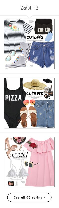 """""""Zaful 12"""" by oshint ❤ liked on Polyvore featuring Converse, STELLA McCARTNEY, Billabong, CLUSE, WithChic, Stuart Weitzman, Charlotte Russe, Red Herring, MANGO and Summer"""