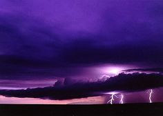 One of the most beautiful things I have ever seen was a panoramic thunderstorm in the desserts of southern New Mexico.