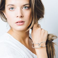 The secret to nailing your minimal look is finding an accessory that decorates with simplicity. These earrings are perfect for adding that little bit of shine in a subtle way.  The Raindrops earrings are made of sterling silver or of gold-plated sterling silver.