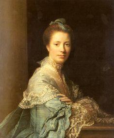 Portrait Of Elizabeth Gunning, Duchess Of Argyll - Allan Ramsay - WikiArt.org