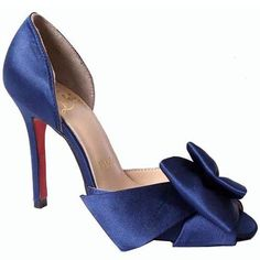 Blue Christian Louboutin Anemone Special Occasion 120mm