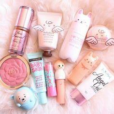 Immagine di makeup, make up, and pink