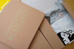 Weared Art - 25 Cool T-shirt Packaging Design Examples