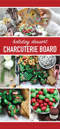 'Tis the season of holiday baking, party planning, gifting, and décor, and you know you can never have enough inspiration for these occasions. Check out this Holiday Dessert Charcuterie Board, featuring Peanut M&M'S® Ugly Sweater Packs, to find a creative treat idea to serve at your Ugly Christmas Sweater Party! Plus, these festive sweets are made even easier since you can find everything you'll need at your local Kroger, King Soopers or Fred Meyer!