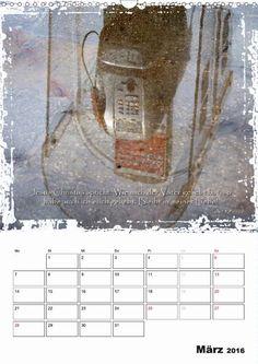 Kalender - Christliche Monatssprüche - März