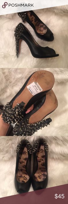 SAM EDELMAN Spike Peep Toe Pumps Never worn! (Purchased from marshalls so they may show small signs of being tried on) Comfortable & true to size! 4inch heel. Sam Edelman Shoes Heels