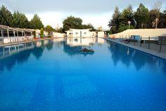 A perfect wedding reception by Skaras Village Swimming Pool. www.skaras.gr
