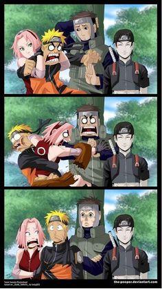 Naruto, Sakura, Yamato e Sai Naruto Uzumaki, Naruto Sasuke Sakura, Sarada Uchiha, Gaara, Yamato Naruto, Narusaku, Sakura Haruno, Naruto Comic, Anime Naruto