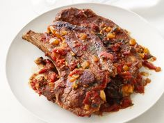 Chipotle Lamb Chops from #FNMag #myplate #protein #veggies