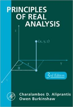 Principles of Real Analysis Education, Amazon, Books, Ebay, Amazons, Libros, Riding Habit, Book, Onderwijs