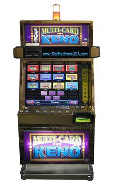 Caveman keno machine for sale