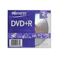 Introducing Memorex DVDR 2PK 16X Slim  NEW  Retail  05675. Great product and follow us for more updates!