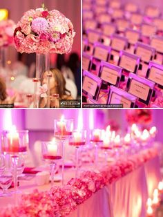 Real Wedding: Pink Perfection