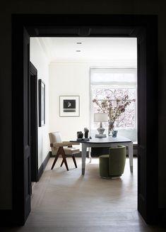 Sutton Place Residence - CAROL EGAN INTERIORS Boutique Design, A Boutique, Home Interior Design, Interior Architecture, Window Jamb, Sutton Place, Design Firms, Decoration, Bedding Sets
