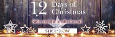 12 days Of Christmas Reductions at Scotts of Stow Its Christmas at Scots of Stow! Countdown to Christmas with Scotts of Stow's 12 days of Christmas promotion! Christmas Offers, 12 Days Of Christmas, Christmas Countdown