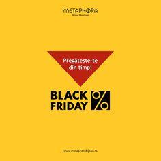 Pregătește-te din timp pentru Black Friday! #metaphora #sale #blackfriday Black Friday, Events, Movie Posters, Ethnic Jewelry, Film Poster, Billboard, Film Posters
