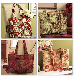 Butterick pattern bags