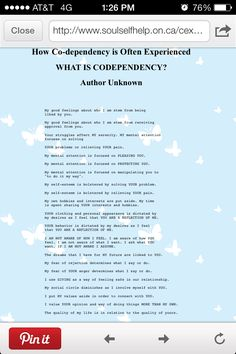 acoa codependency paper term Early discourse regarding chemical dependency gave rise to the enigmatic concept of codependency codependency quickly became diagnosed in the .