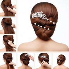 This Elegant Wedding Hairstyle is Just Perfect