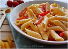 Pasta con curry e philadelphia