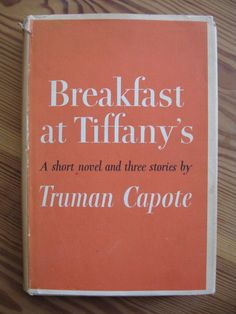 Breakfast at tiffanys -- the movie was nothing like the book! The book is so well written, with human insight & fine language. I Love Books, Good Books, Books To Read, My Books, Breakfast At Tiffany's Book, Breakfast At Tiffanys, Reading Lists, Love Reading, Book Lists