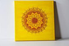 Henna Art,Holiday Gift,Mandala Art,Bohemian Art,Meditative Art,Wedding Gift,Unique Art,Home Decor,Modern Decor,Hand painted,Acrylic Painting $99 #etsy #etsyusa #lavenderhenna #holidaygift #gift #henna #hennaart