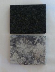 Holiday Classics~RJR Fabrics~ Fat Quarter Bundle of 2~Black, Gray