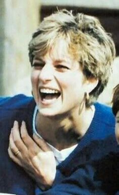 Laughing Diana