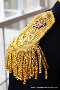 Royal Navy Epaulette by Man the Capstan Crew, via Flickr